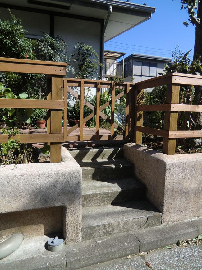 ウッドフェンスの写真2