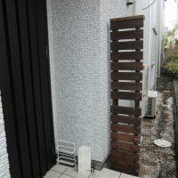 ウッドフェンス施工事例のアイキャッチ画像