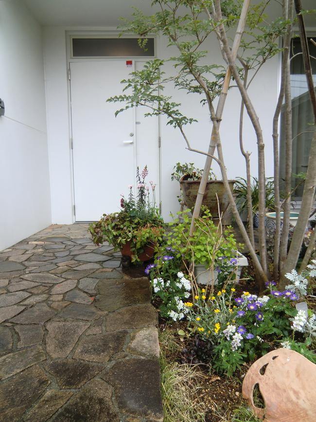 玄関先施工事例の写真1